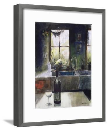 Kitchen Window-John Lidzey-Framed Giclee Print