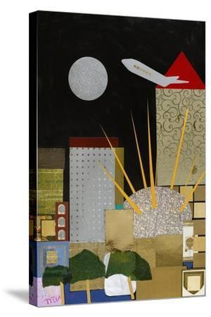 Spirit of Docklands, 2009-Frances Treanor-Stretched Canvas Print