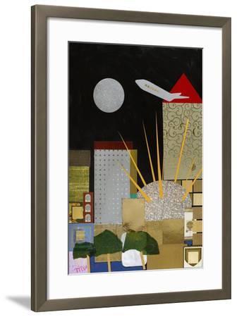 Spirit of Docklands, 2009-Frances Treanor-Framed Giclee Print