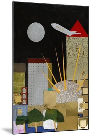 Spirit of Docklands, 2009-Frances Treanor-Mounted Giclee Print