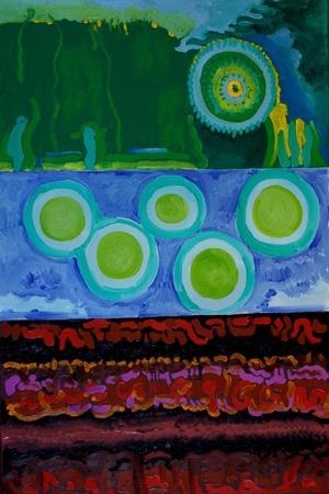 Code, 2009-Jan Groneberg-Giclee Print