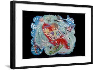 The Sea Birds, 2010-Tony Todd-Framed Giclee Print