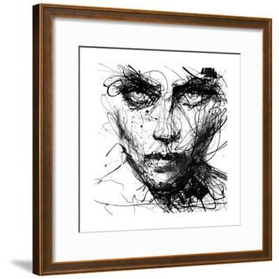 In Trouble, She Will-Agnes Cecile-Framed Premium Giclee Print