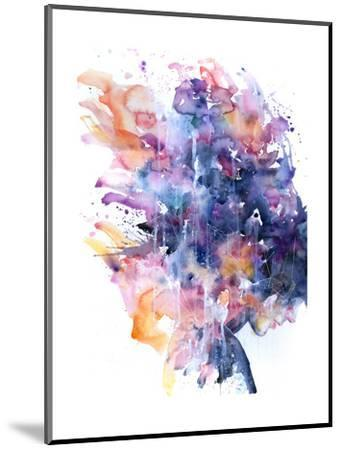 In A Single Moment All Her Greatness Collapsed-Agnes Cecile-Mounted Art Print