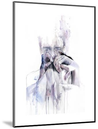 Gestures-Agnes Cecile-Mounted Art Print