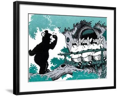 Bears are Different - Jack & Jill-Joseph Bolden-Framed Giclee Print