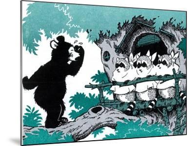 Bears are Different - Jack & Jill-Joseph Bolden-Mounted Giclee Print