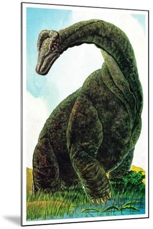 Dinosaurs - Jack & Jill-Edward F. Cortese-Mounted Giclee Print