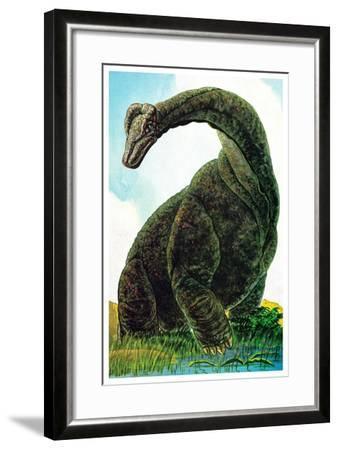 Dinosaurs - Jack & Jill-Edward F. Cortese-Framed Giclee Print