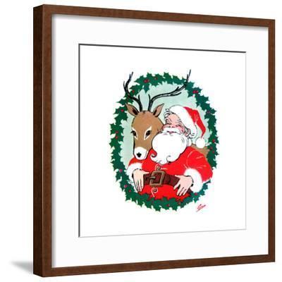 Ho Ho Ho! - Jack & Jill-Ann Eshner-Framed Giclee Print