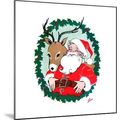 Ho Ho Ho! - Jack & Jill-Ann Eshner-Mounted Giclee Print