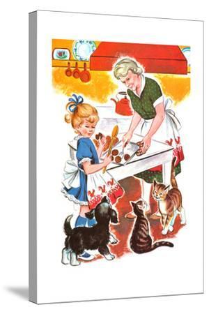 Jenny's Secret - Jack & Jill-Irma Wilde-Stretched Canvas Print