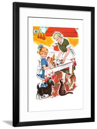 Jenny's Secret - Jack & Jill-Irma Wilde-Framed Giclee Print