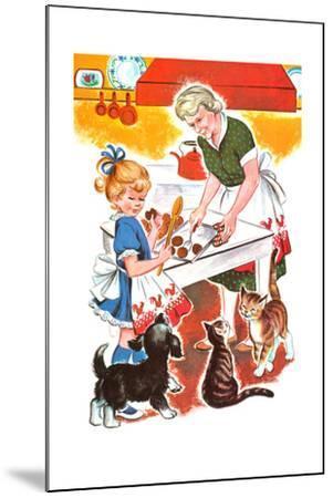 Jenny's Secret - Jack & Jill-Irma Wilde-Mounted Giclee Print