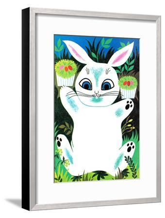 You Can Eat These Easter Baskets - Jack & Jill--Framed Giclee Print
