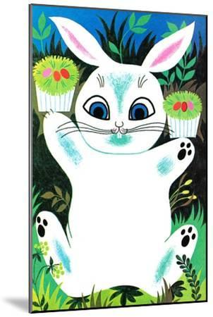 You Can Eat These Easter Baskets - Jack & Jill--Mounted Giclee Print