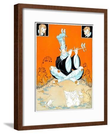 Ocean Waves - Child Life-R. J. Appel-Framed Giclee Print