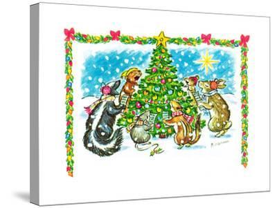 December '66 - Jack & Jill-Barbara Werner-Stretched Canvas Print