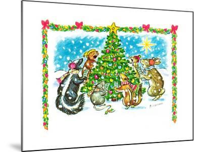 December '66 - Jack & Jill-Barbara Werner-Mounted Giclee Print