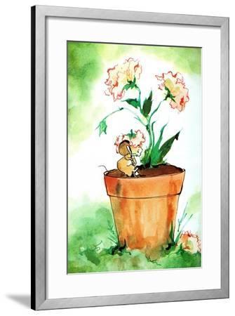 Potluck - Jack & Jill-Edith Osborn Corbett-Framed Giclee Print