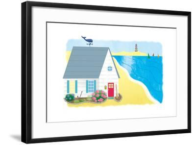 Little White House 4 - Turtle-Sheree Boyd-Framed Giclee Print