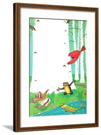 Going on a Trip? - Jack & Jill-Dorothy Forsyth-Framed Giclee Print
