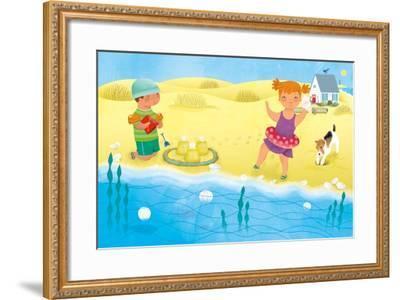 Little White House - Turtle-Sheree Boyd-Framed Giclee Print