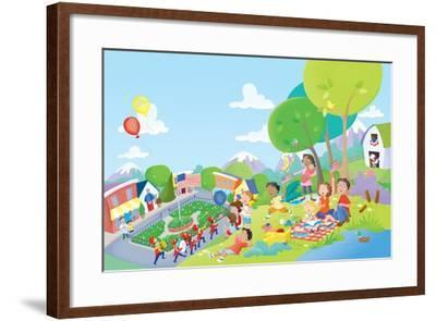 Come Celebrate - Humpty Dumpty-Robin Boyer-Framed Giclee Print
