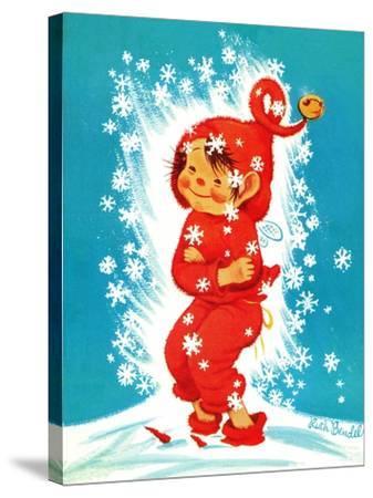 Frost Elf - Jack & Jill-Ruth Bendel-Stretched Canvas Print