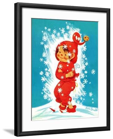 Frost Elf - Jack & Jill-Ruth Bendel-Framed Giclee Print
