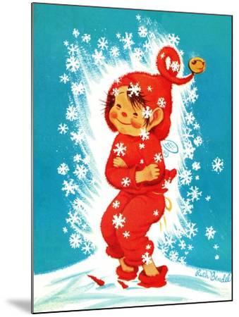 Frost Elf - Jack & Jill-Ruth Bendel-Mounted Giclee Print