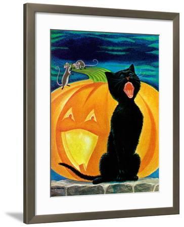 Cat's Meow - Child Life-Dorothy Forsyth-Framed Giclee Print