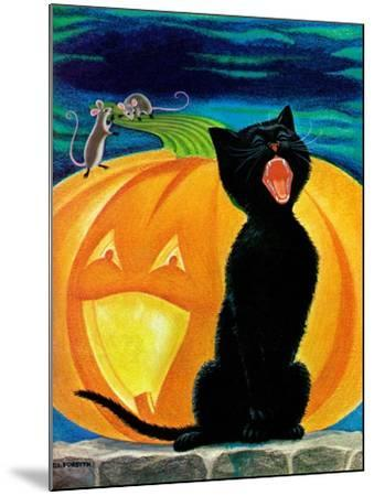 Cat's Meow - Child Life-Dorothy Forsyth-Mounted Giclee Print