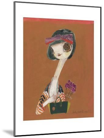 Carnation-Kelly Tunstall-Mounted Giclee Print