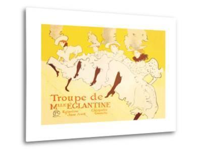 Troupe de Mille Eglantine-Henri de Toulouse-Lautrec-Metal Print