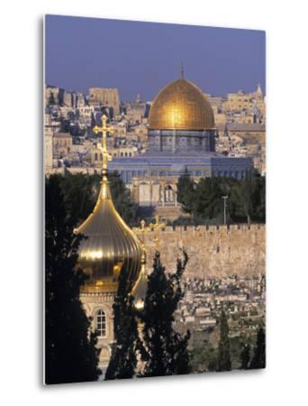Dome of the Rock, Temple Mount, Jerusalem, Israel-Jon Arnold-Metal Print