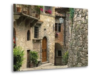 Tuscan Stone Houses-William Manning-Metal Print