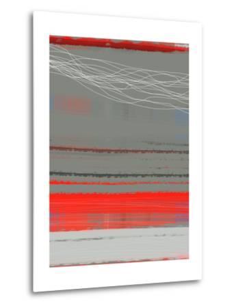 Abstract Red 2-NaxArt-Metal Print