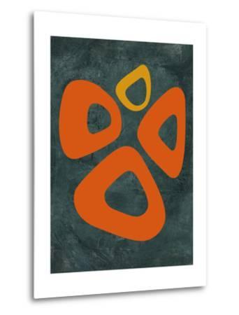 Abstract Oval Shape 2-NaxArt-Metal Print