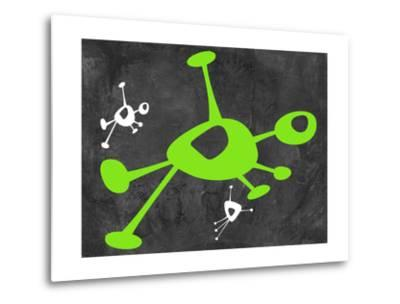 Abstract Splash Theme 14-NaxArt-Metal Print