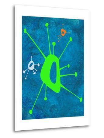 Abstract Splash Theme 18-NaxArt-Metal Print