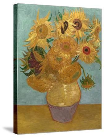 Sunflowers, c.1889-Vincent van Gogh-Stretched Canvas Print