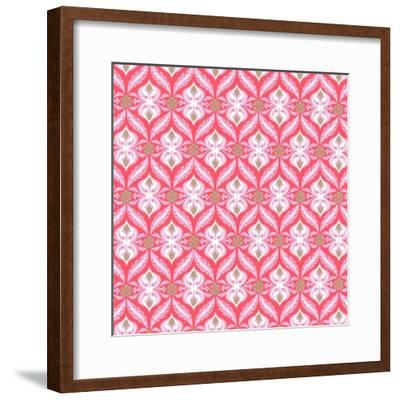 Etched Nouveau--Framed Giclee Print
