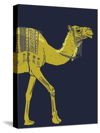 Camel--Stretched Canvas Print