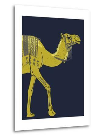 Camel--Metal Print