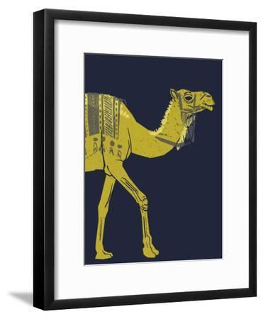 Camel--Framed Giclee Print