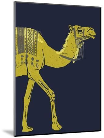 Camel--Mounted Giclee Print