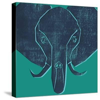 Elephant--Stretched Canvas Print