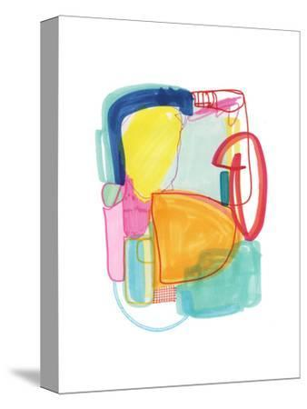 Abstract Drawing 2-Jaime Derringer-Stretched Canvas Print