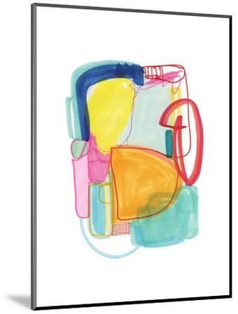 Abstract Drawing 2-Jaime Derringer-Mounted Giclee Print